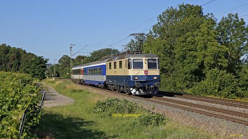 Re 421 387-2 Train DPE 31396 Basel Bad Bhf-Neustrelitz Hbf à  Bamlach