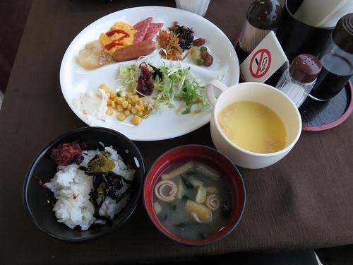朝食 ターミナルホテル新山口