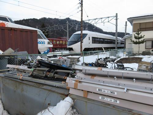 富士急8500系 2000形さよならフジサン特急 河口湖駅 (4)