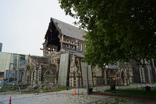 Christchurch: Earthquake Damages -> Reconstruction and Nice new Buildings