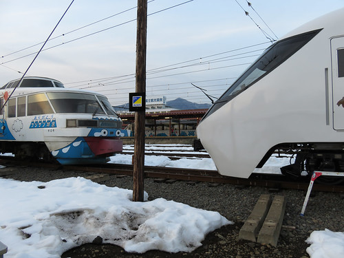 富士急8500系 2000形さよならフジサン特急 河口湖駅 (3)