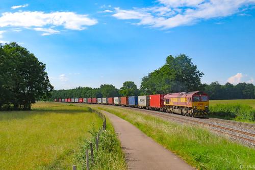 Open Rail en accélération.