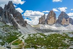 Monte Paterno and Tre Cime di Lavaredo