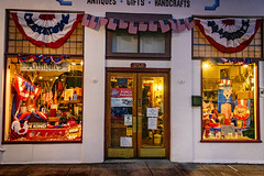 4th of July Store Front at Night, Niles CA #4