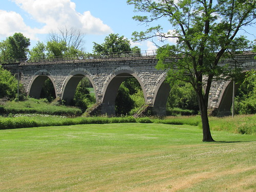 Tiffany Wi. UP RR 5 Arch Bridge