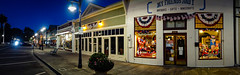 4th of July Store Front at Night, Niles CA #5