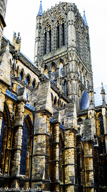 Lincoln Cathedral - Exterior Tower