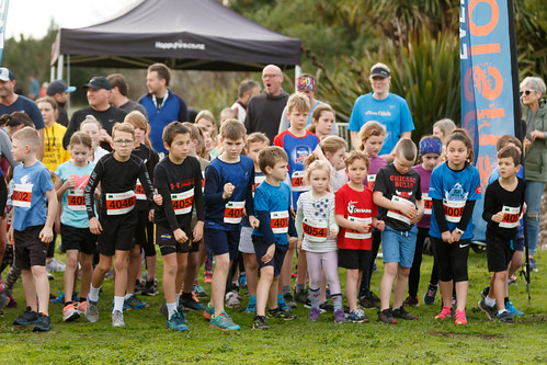 Childrens 2km race start