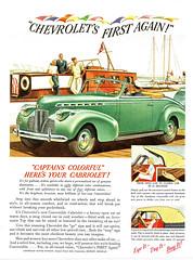 1940 Chevrolet Convertible Cabriolet
