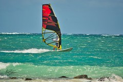 Traditional windsurfing