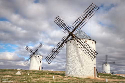 The old windmills