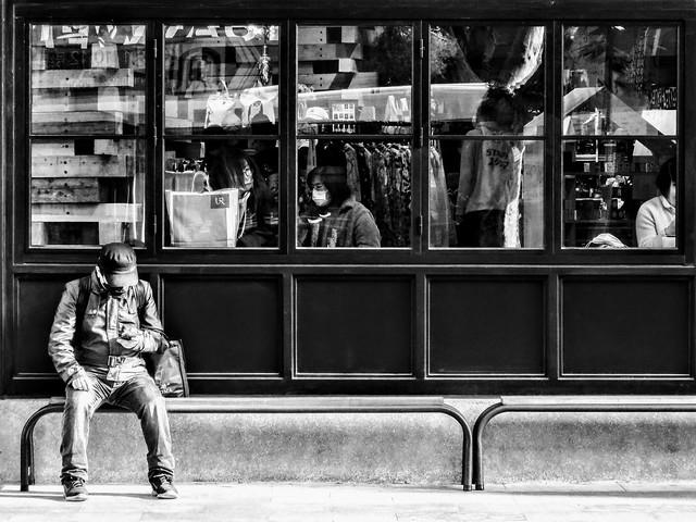 COVID-19 archives: Street scene (27-03-2020)