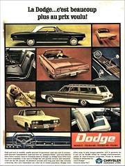1966 Dodge Ad (Canada)