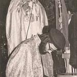 البابا شنودة الثالث في عشية رسامة الأنبا بيشوي مطران دمياط