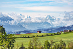 A house before the alps