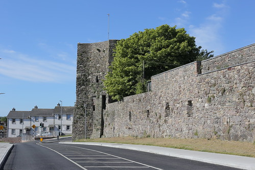 Old city Walls, Waterford City, Ireland