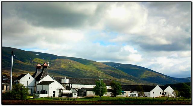 Dalwhinnie distillery, Dalwhinnie (Scotland)
