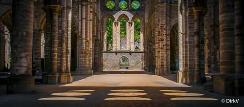 Abbey Villers-la-Ville, Belgium