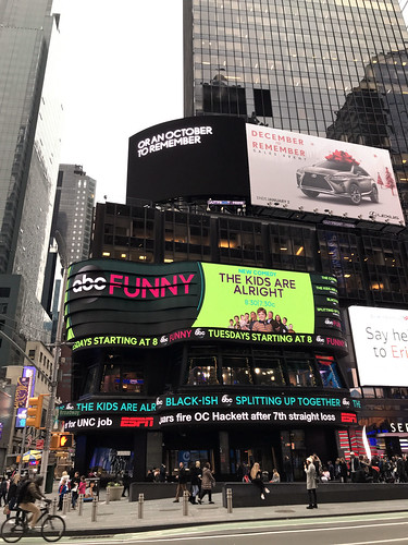 ABC in Times Square