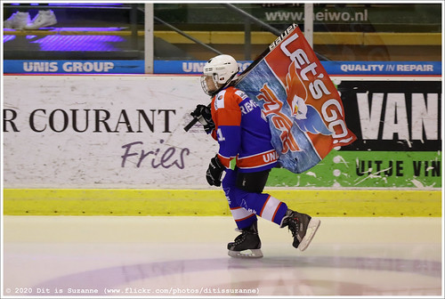 Preparing for the game UNIS Flyers vs Chiefs Leuven