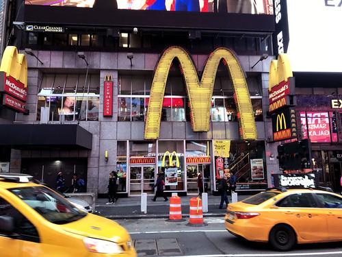 Times Square McDonalds at 1560 Broadway