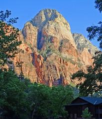 Lodge View Sunrise, Zion NP 2014