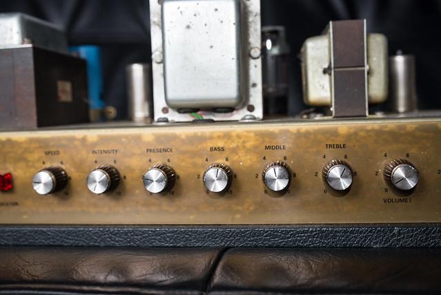 Photo:Marshall Bluesbreaker 1962 amp closeup. By shixart1985