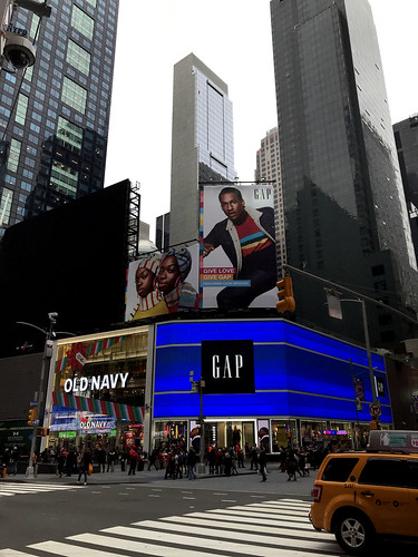Gap in Times Square