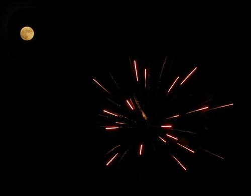 Fireworks over Broken Arrow