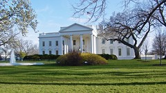 The White House in late afternoon