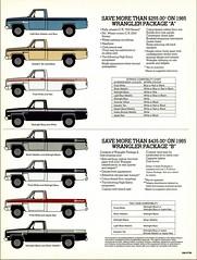 1985 GMC Wrangler Pickup (Canada)