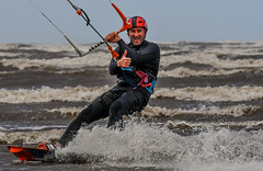 Kite Surfing in Lancashire 05.07.2020