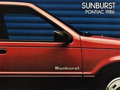 1986 Pontiac Sunburst