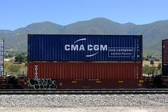 Benching Freight Train Graffiti - July 4th 2020