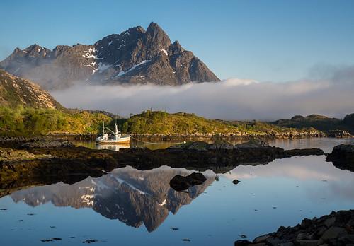 Norwegian anchorage