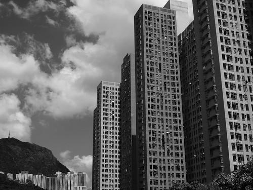 Towards Fei Ngo Shan (Kowloon Peak)