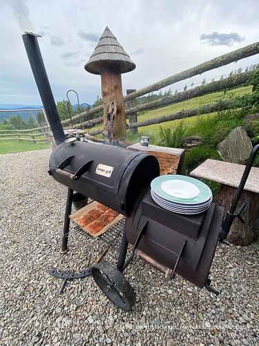 Outdoorküche auf der Galgenhütte
