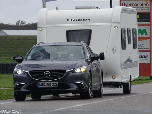 Mazda 6 & Hobby Caravan from Germany