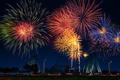 2020 Worlds of Fun Fireworks Display