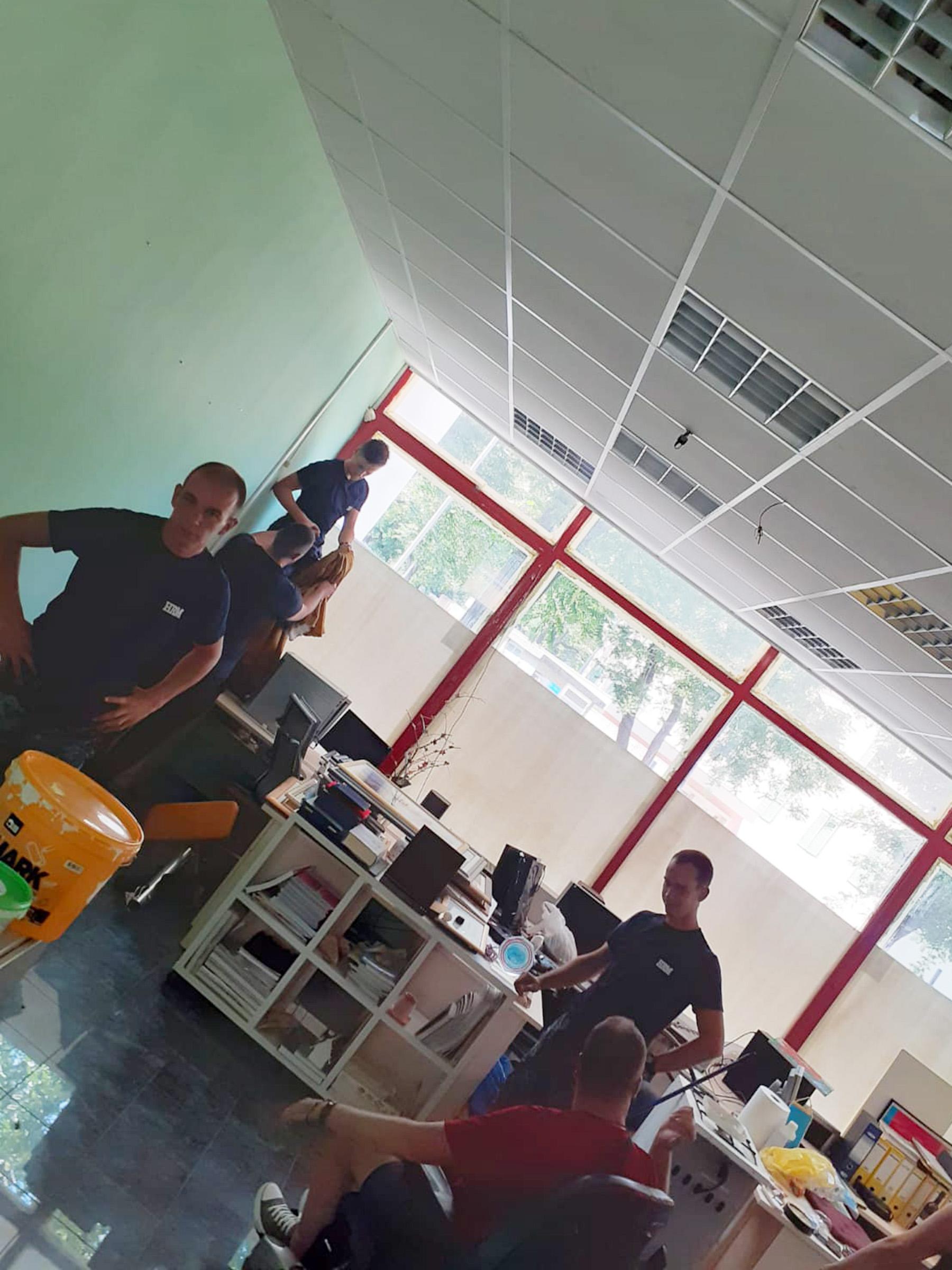 Pripadnici HRM-a uređivali prostorije udruge