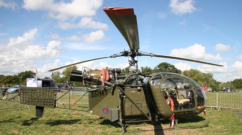 XR379 Aerospatiale SE3130 Alouette II  Legoland wide 250906 (Now 2-ALOU Ex-G-CICS)
