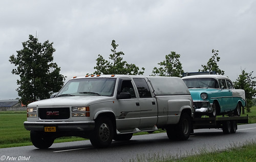 1997 GMC Sierra & 1956 Chevrolet Bel Air