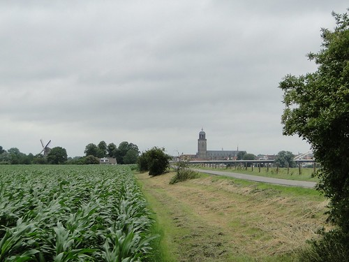 Great Church of Deventer visible
