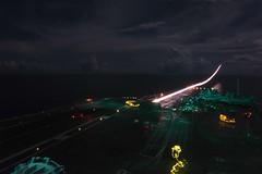 An F/A-18F Super Hornet launches from USS Ronald Reagan (CVN 76).