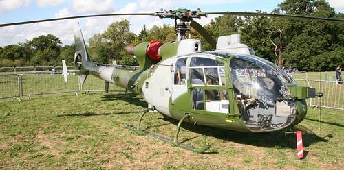 ZA726 Aerospatiale SA341B Gazelle AH.1 Legoland 250906