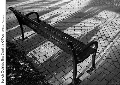 Bench Outside The Dentist's Office
