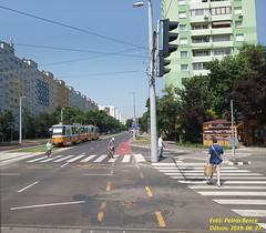 Tatra T5C5K2 4143 Budapest, Etele út/Fehérvári út, 2019. 06. 27.