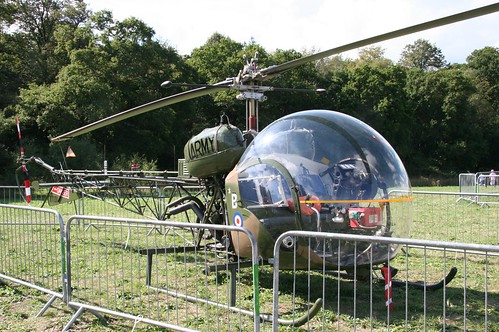 XT131 Agusta Bell AB47G-3B  AAC Legoland 250906 (now G-CICN )