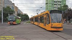 Combino Supra 2038 + FLIXBUS Budapest, Etele út/Fehérvári út, 2019. 07. 09.