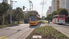 MAN A21 Lion's City + Combino Supra 2005 + SETRA Budapest, Bártfai utca, 2019. 07. 09.